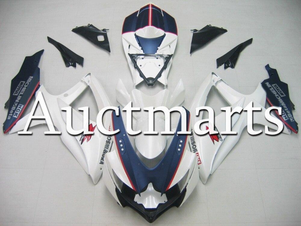 Fit for Suzuki GSX-R 750 2008 2009 2010 ABS Plastic motorcycle Fairing Kit Bodywork GSXR750 08 09 10 GSXR 750 GSX R750 CB53