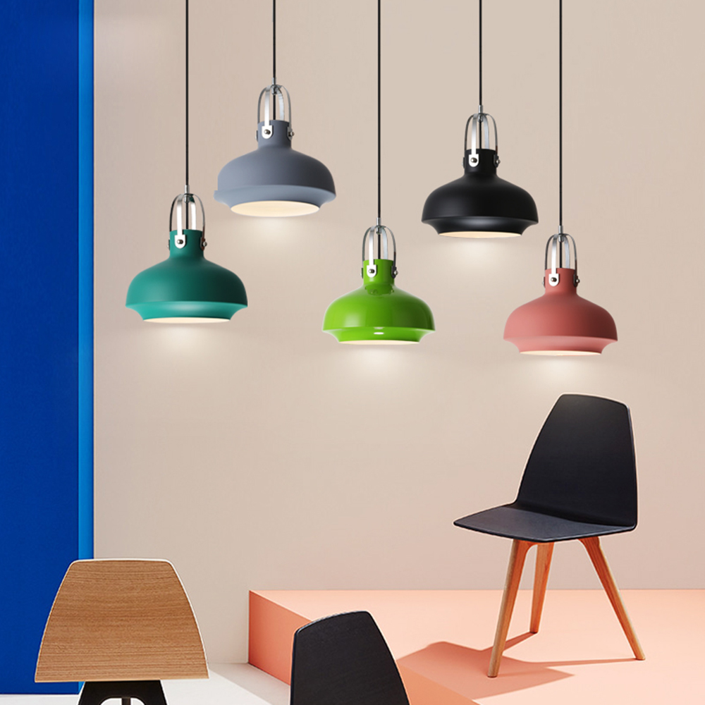 Modern Nordic Colorful Macaron LED Iron 1 Light Pendant Light Kit for Dining Bedrooom Light Fixtures Home Decor Art Lamp LmapsModern Nordic Colorful Macaron LED Iron 1 Light Pendant Light Kit for Dining Bedrooom Light Fixtures Home Decor Art Lamp Lmaps