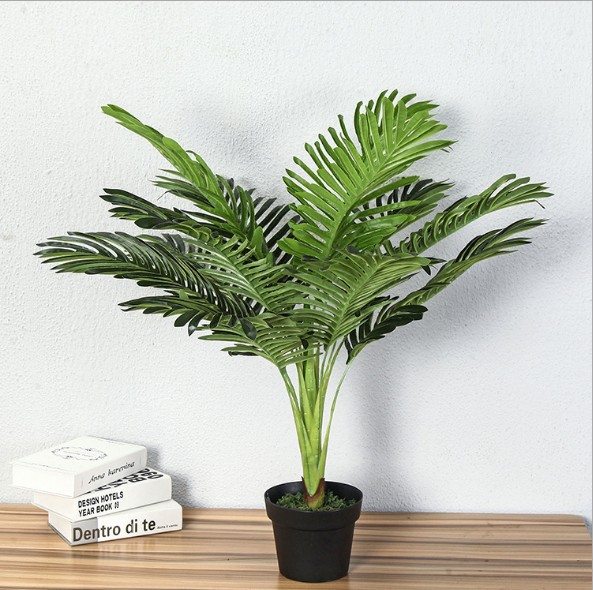 Us 26 96 20 Off 70 Cm Real Touch Plastic Artificial Tree Plant Tropical Fake Tree Plant Home Garden Decor No Pot In Artificial Plants From Home