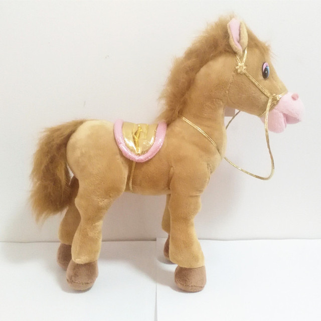 Russian language intelligent taking horses doll,electronic toys for girl,Intellectual russian toy Christmas gift for children