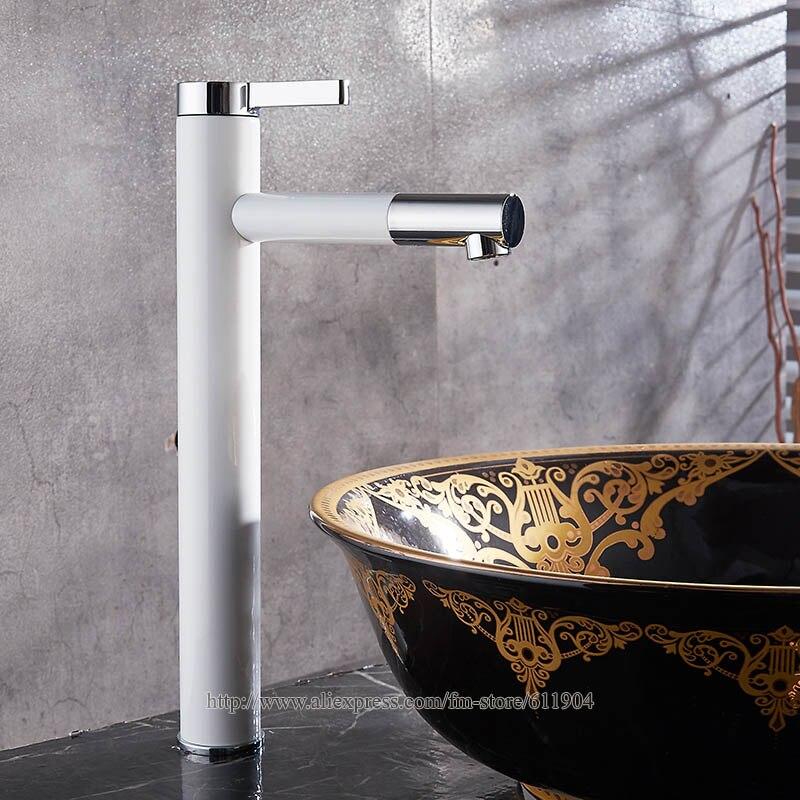 Nieuwe Mode Messing Zwart Witte Bakken Badkamer Kraan Toilet ...