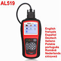 Autel AutoLink AL519 OBDII/CAN Car Engine Fault Code Reader Scanner Automotive Diagnostic Scan Tool English French Spanish Dutch
