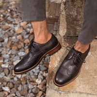 Qweff/Мужская обувь из натуральной кожи высокого качества с эластичной лентой, модный дизайн, прочная, удобная мужская обувь, большие размеры,