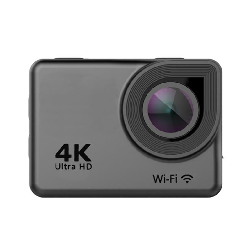 Ausek AT-38 4K 170 Degree Ultra HD Wide-Angle Waterproof WIFI Sports Action Camera Black Sports Camera For RC FPV Quadcopter