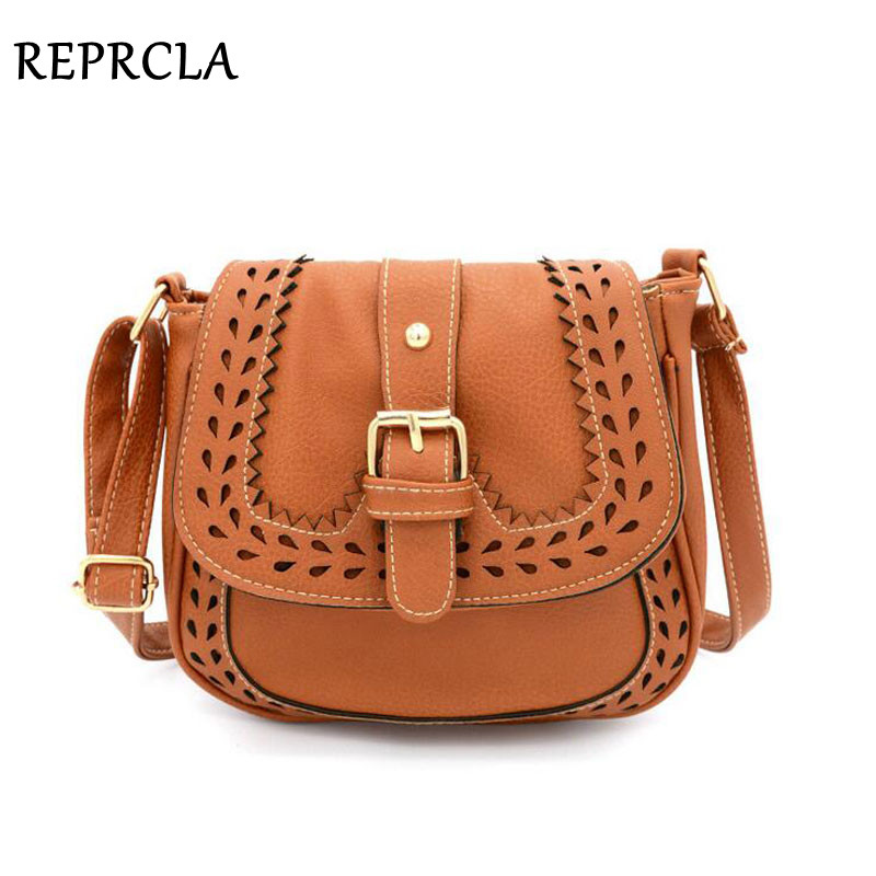 Vintage Hollow Out Shoulder Bag PU Leather Women Messenger Bags Handbags Ladies Evening Bag Crossbody High Quality hisuely vintage pu leather shoulder bag designer women handbags high quality women messenger bag saddle crossbody bags ladies