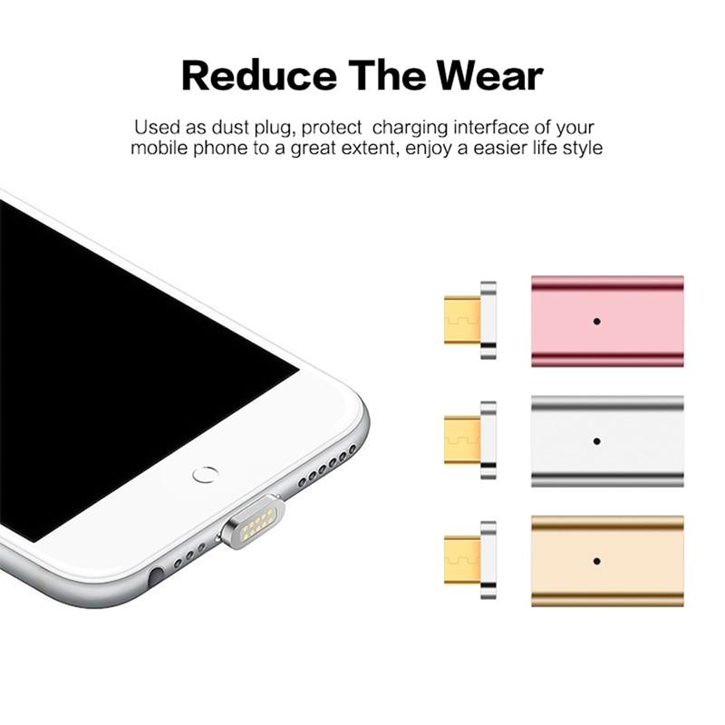 Enthousiast Micro Usb Naar Magnetic Charger Data Adapter Voor Android Oplaadkabel Magneet Adapter Converteren Voor Samsung 70 80 Specialiteit Gereedschap
