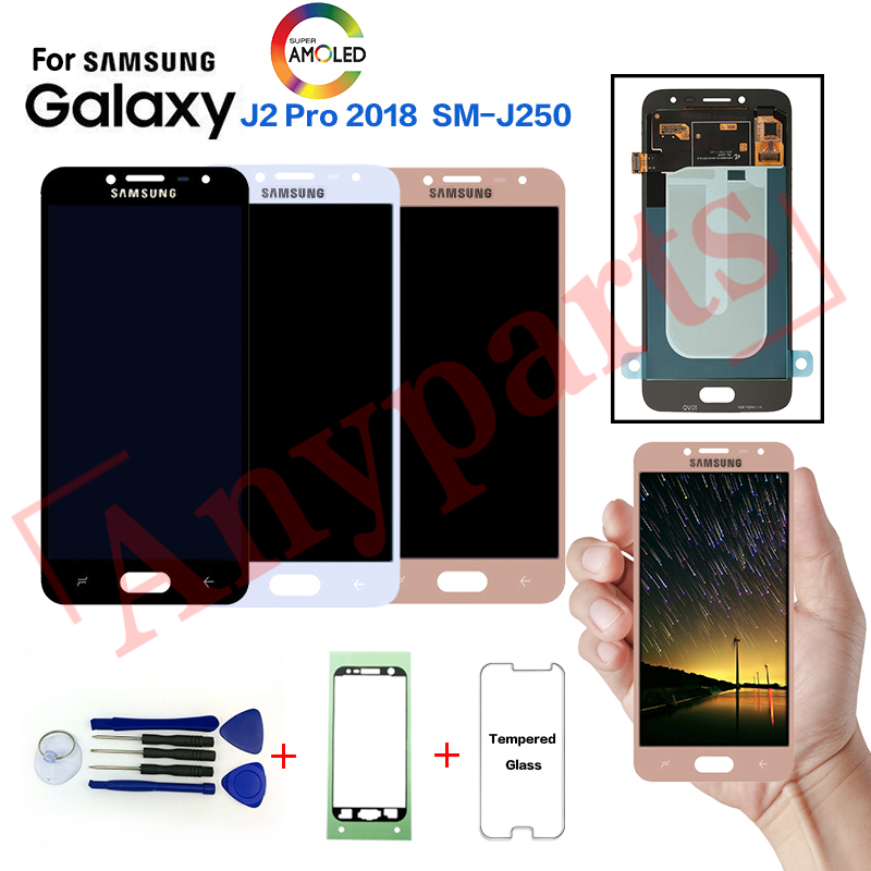 Original For Samsung J2 Pro Sm J250f Display Lcd Screen For