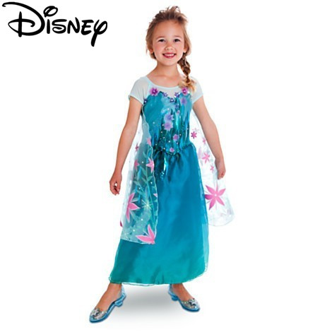 Disney Gefrorene schneekönigin elsa baby mädchen Cosplay Kostüm ...