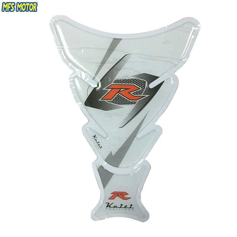 3pcs White Motorcycle Sticker Tank Pad Gas Decal Sticker Protector Pad Cover Decal For Suzuki GSX R 600 750 1000 K7 K8 K9 SFV