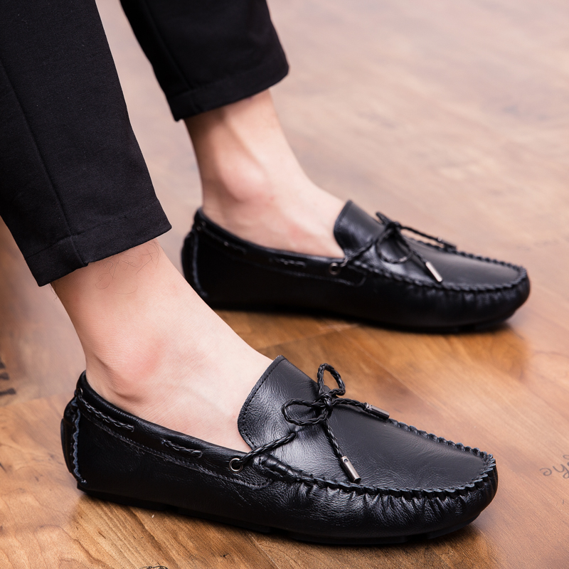 Men Loafers Shoes outdoor Italy Oxfords Business Dress Boat Shoes Formal Oxford Men Flat Shoes Wedding party shoes p4 38