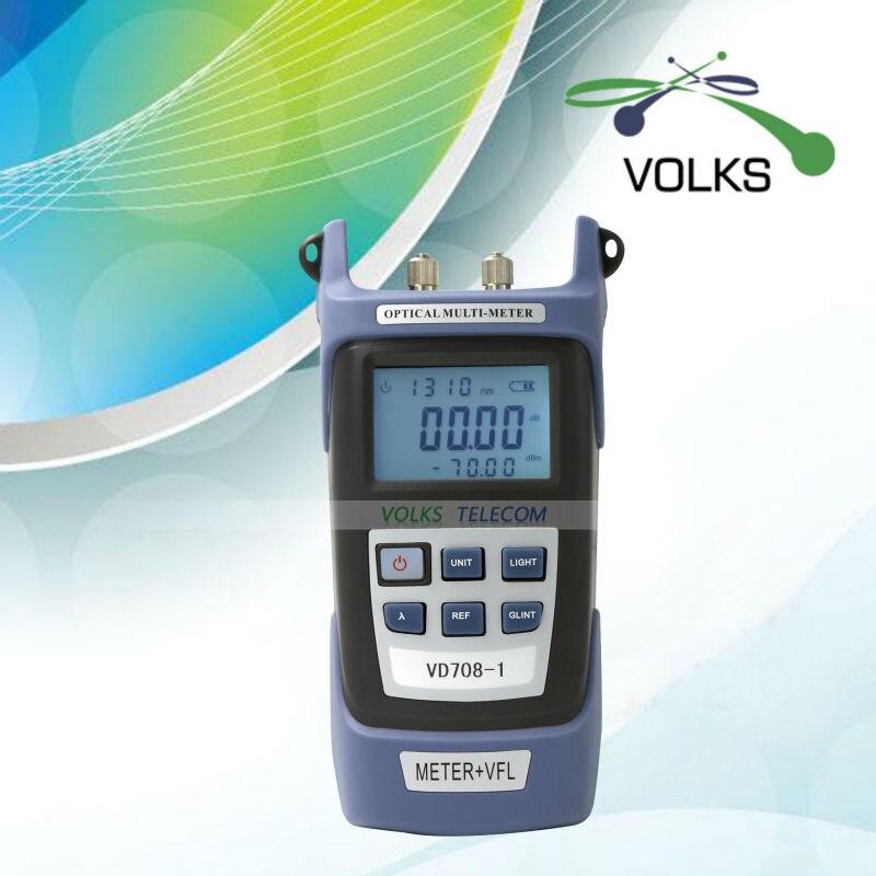 VOLKSTEC Optical Multi-meter Optic Power Meter 5KM Visual Fault Locator