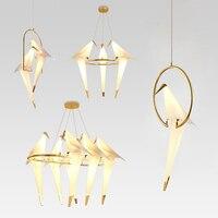 Современная Nordic подвесные светильники светодиодные подвесные светильники для Гостиная столовая Кухня светильники свет Hanglamps