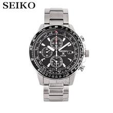 seiko watch men top Luxury Brand Waterproof Sport Wrist