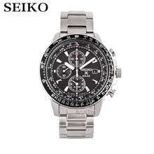 цена SEIKO Men 'S Table Spirit Solar Business Leisure Quartz Watch Waterproof Men' S Steel Strap Watch SNE297J1 онлайн в 2017 году