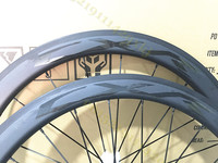 High Quality 50mm 45mm 38mm Clincher Carbon Wheelset 700C Road Bicycle Full Carbon Clincher Wheels Black