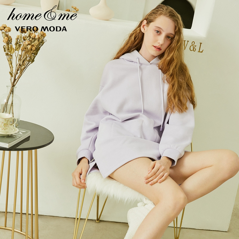 Vero Moda New Cute Hooded Sweatshirt Dress Leisure Homewear | 318433515