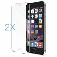 2PCS Film Tempered Glass Screen Protector Protection en Verre trempe ecran For iphone6 iphone 6 S 6S 7 8 Plus 11 Pro XS Max X XR