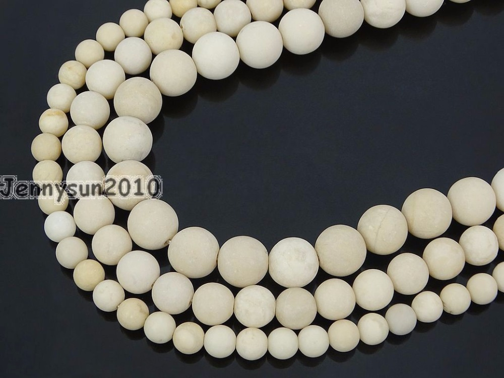 Pcs Frosted  Gemstones Jewellery Making Crafts Onyx Round Beads 6mm Black 62