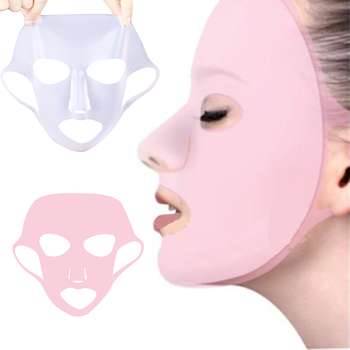 Silicone Face Mask for the Sheet Anti-off Ear Fixed Prevent Essence Evaporating Reusable Skin Care Tool - discount item  30% OFF Skin Care