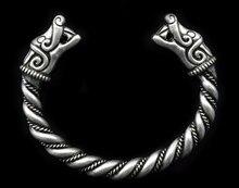 5 unids Nórdico Vikingo Lobo Pulseras Pulseras Hechas A Mano
