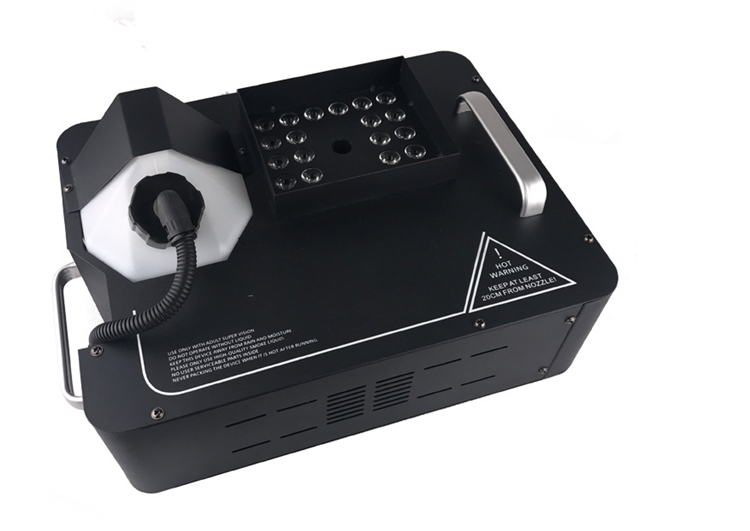 New 1500W LED Fog Machine 24X3W RGB Led Lamps Smoke Machine Professional Fogger <font><b>Hazer</b></font> Device <font><b>Stage</b></font> DJ Party Equipment image