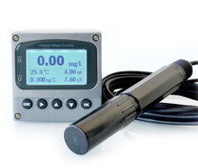 Real Time Potassium Ion Meter Controller Industrial Monitor Analyzer RS-485 4-20mA Relays K ion electrode sensor probe