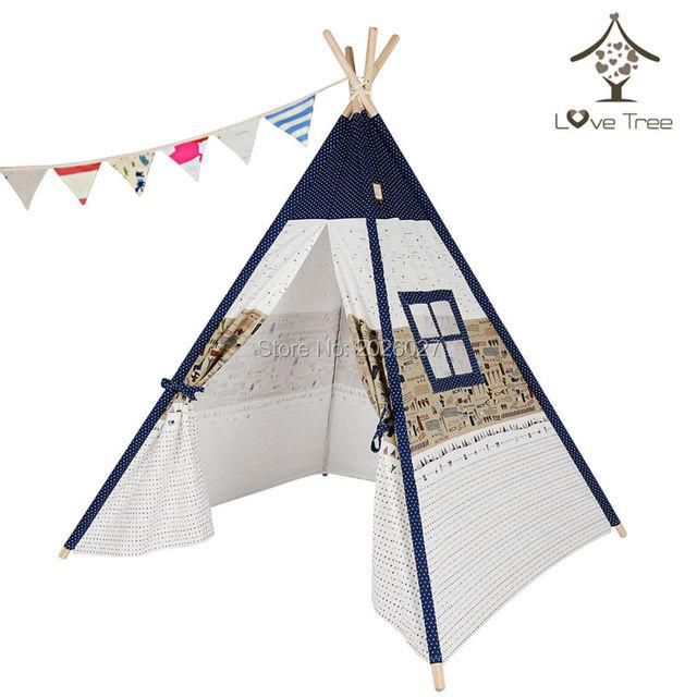 Liebe Baum Kinder Indien Tipi Zelt Reise Ein Fenster Zelte Fur