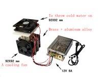 Nouveau semiconductor réfrigération puce dissipation de la chaleur d'apprentissage suite kit DIY gèle composants de réfrigération froid fin/dissipateur de chaleur
