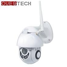 OUERTECH  PTZ Outdoor IP Camera WiFi 1080P Motion Detect  Du
