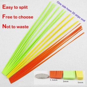 Image 4 - Papier à Quilling japonais, Dandy, 200 couleurs, 200 couleurs, 1.5 et 3 et 5mm de Long 390mm, papier fait à la main, bricolage