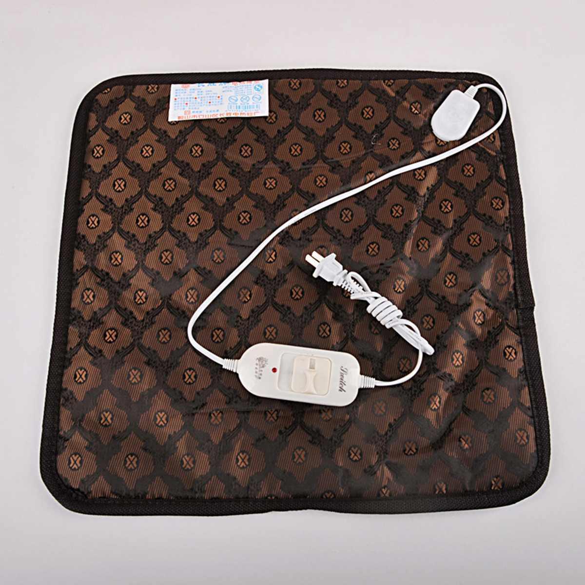 45*45 электрическое одеяло зимняя грелка животное водонепроницаемый коврик для кота собаки термостат с подогревом одеяло стул теплый коврик