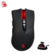 A4TECH Bloody  R30 Wireless Gaming Mouse World's Fastest Key Response R30 Golden Spirit Lithium Rechargeable Wireless Game Mouse