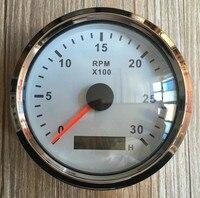 Brand New Tachometer Revolution Meters 3000RPM 12v 24v Gasoline Or Diesel Engine Suitable For Auto Truck