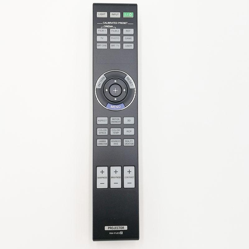 New Original Remote Control  rm-pj23 for sony TDG-PJ1 VPL-HW50ES VPL-HW55ES   projectors new lmp f331 replacement projector bare lamp for sony vpl fh31 vpl fh35 vpl fh36 vpl fx37 vpl f500h projector