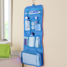 Womens Ladies Travel Toiletry Folding Hanging Wash Cosmetic Makeup Case Portable Organizer Bags