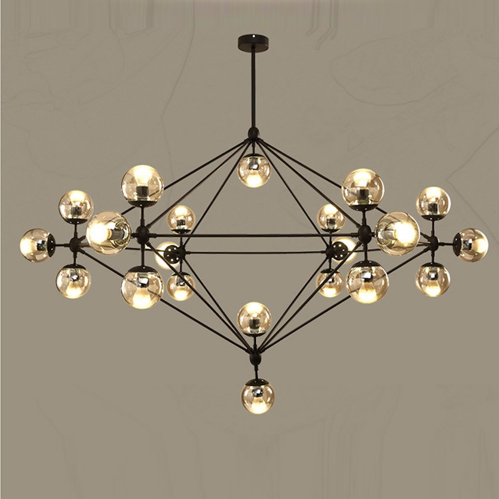 Modern Magic Bean Bedroom Pendant Lights Bubble DNA Design Bar Counter Pendant Light Living Room Mall Hotel Decor Hanging Lamps ...