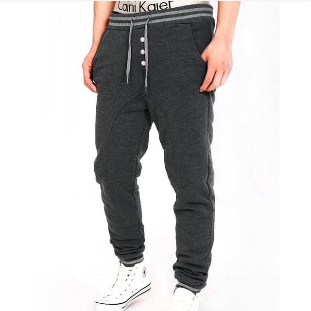 2016 new pants chegada harem pants corredores homens sportwear slim fit calças dos homens pantalons homme moletom suor homens calças pantacourt