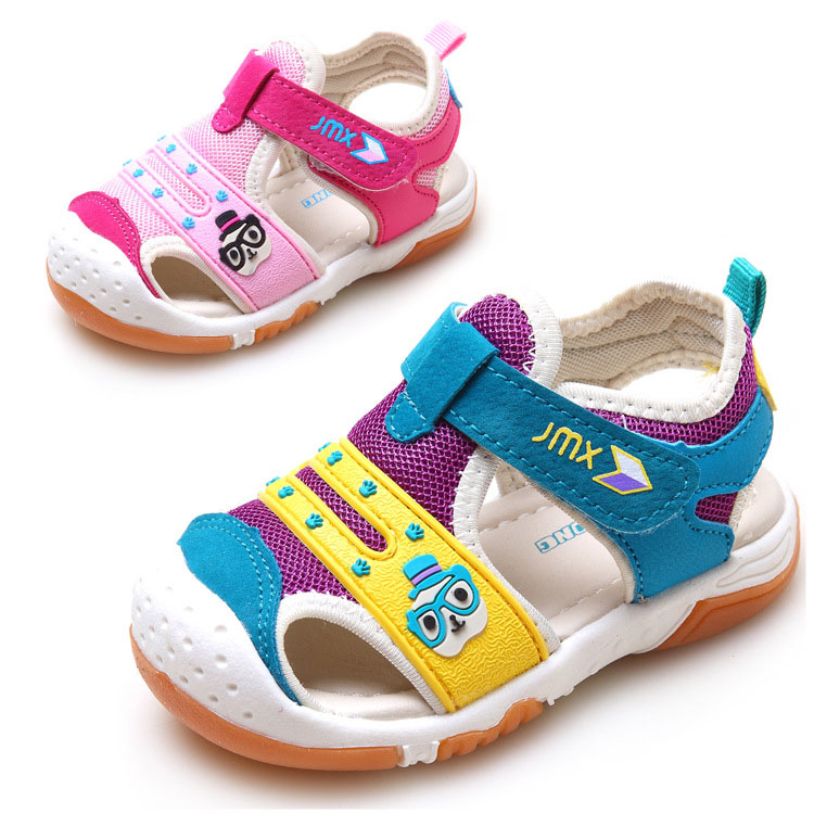 2017 High quality summer baby sandals function shoes boys girls comfortable childrens casual shoes soft bottom sandals