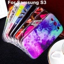 Plástico suave de tpu case para galaxy s3 neo case para samsung galaxy S III GT-i9300 S3 4.8 pulgadas i9300 I939D i9300i DUOS Cubierta de Shell