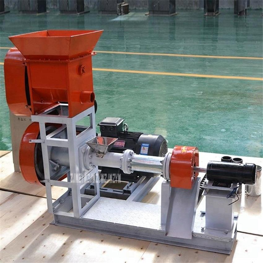 Extrudeuse flottant poisson alimentation faisant la Machine poisson-chat crevettes crabe alimentaire Grain alimentation fourrage fabricant DGP60-C 15KW 120-150 kg/h 380 V