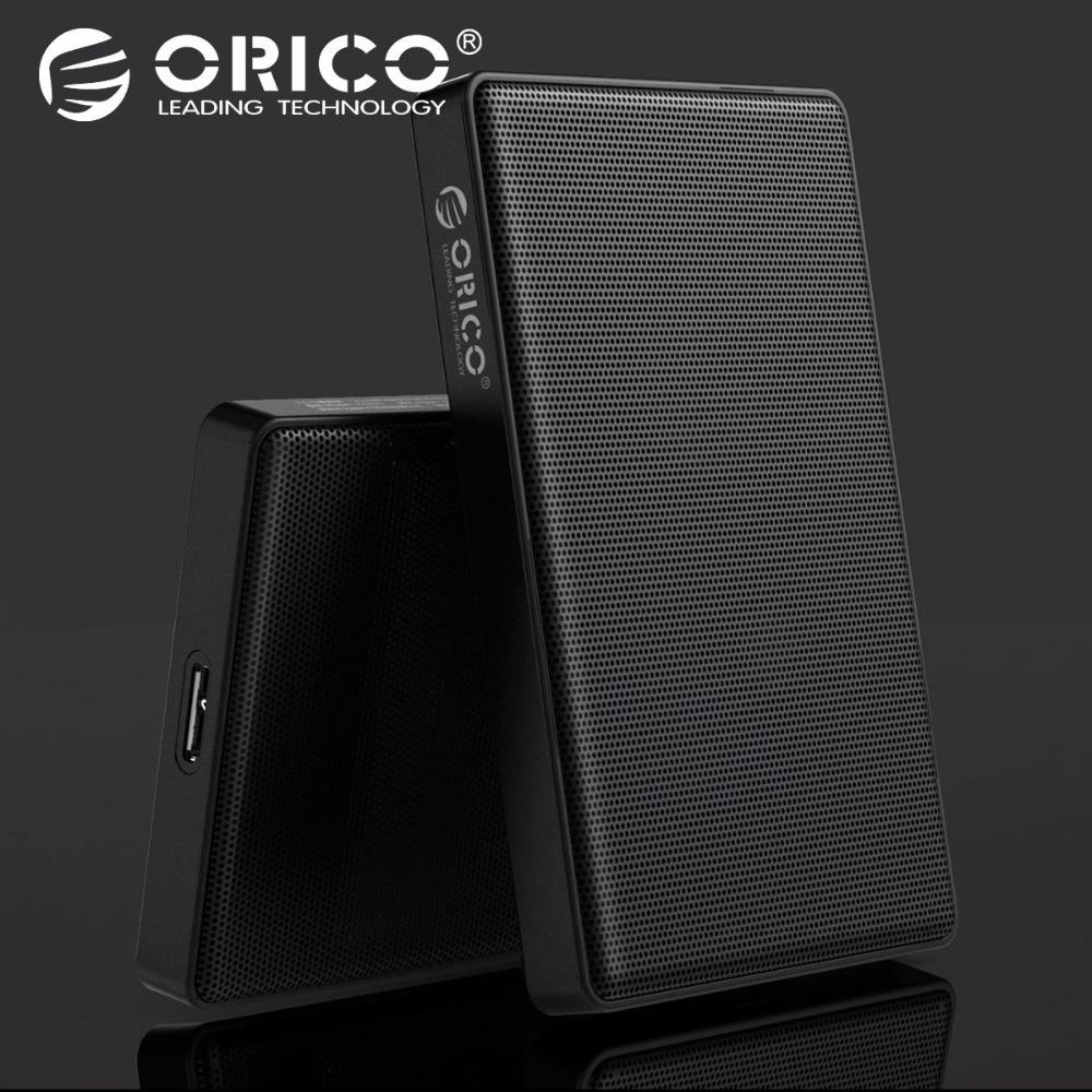 ORICO 2,5 pulgadas SATA a USB 3,0 HDD SSD caso para Samsung Seagate SSD 2 TB 4 tb de disco duro caja de disco externa HDD malla completa