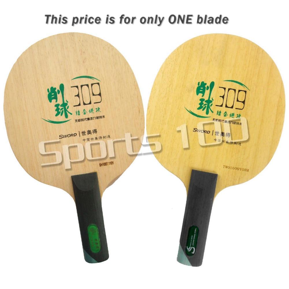 Sword 309 Chop Type Long Shakehand ST table tennis pingpong blade avalox tb525 tb 525 tb 525 shakehand table tennis pingpong blade