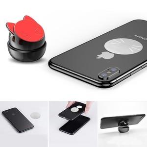 Image 5 - OATSBASF Soporte Universal de teléfono para coche, soporte magnético para teléfono móvil con GPS de 360 grados, para Xiaomi Redmi Note 7