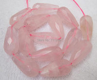 Faceted 14x28mm Natural Rose Quartz Waterdrop Loose Beads 15 We Provide Mixed Wholesale For All Items