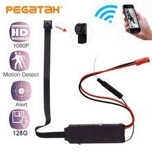 HD 1080 P DIY portátil WiFiIP Mini cámara P2P Micro webcam inalámbrico grabadora de vídeo compatible con videocámara de Vista Remota