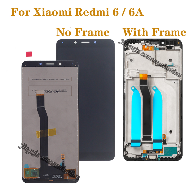 5 45 39 39 Original LCD for Xiaomi Redmi 6A LCD Touch Screen Digitizer Assembly for Redmi 6 LCD display Screen Repair Accessories in Mobile Phone LCD Screens from Cellphones amp Telecommunications