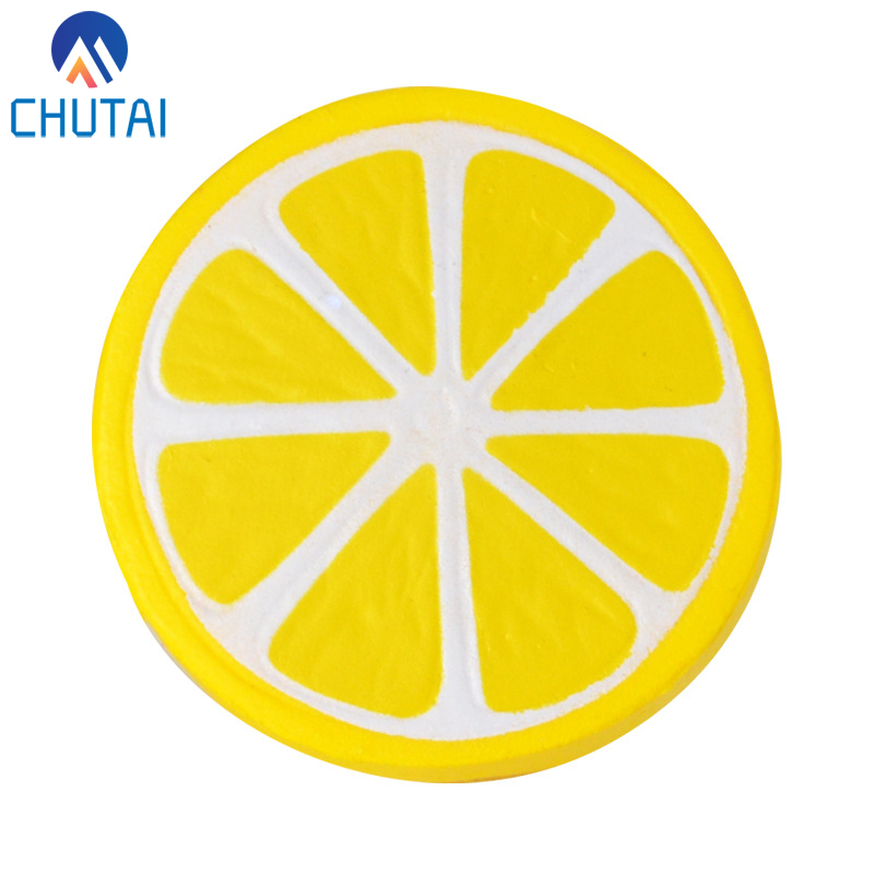 Simulation Squishy Food PU Squishy Slow Rising Scented Lemon Bread Squeeze Toys Stress Relief Vent Kids Plaything 6*5.5CM