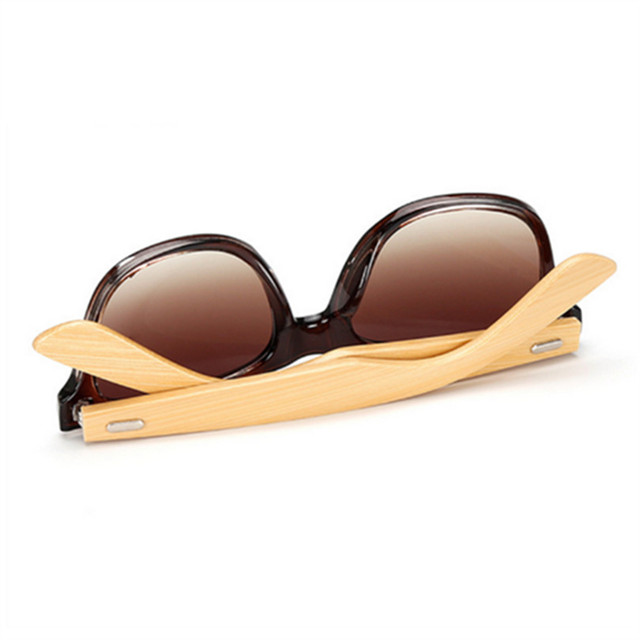 Bamboo Sunglasses Travel Goggles Vintage Wooden Leg Eyeglasses Fashion Brand Design 3