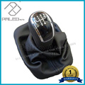 Free Shipping New 5 Speed Car Gear Shift Knob With Black Boot For Skoda Fabia 2000 2001 2002 2003 2004 2005 2006 2007 2008