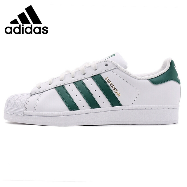 0bd793436fa Original Nova Chegada 2018 Sapatos de Skate dos homens Das Sapatilhas  Adidas Originals Superstar